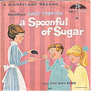 A Spoonful of Sugar - Mary Poppins